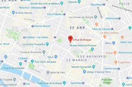 plan rue braque